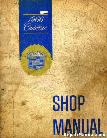 1966 Cadillac Service Workshop Manual
