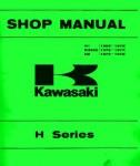 1969-1977 Kawasaki H Series H1 KH500 H2 Motorcycle Shop Manual