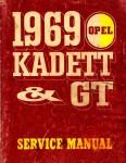 Opel Kadett and GT Service Manual 1969