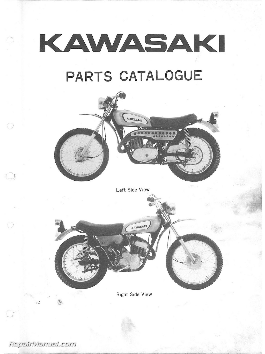 Motorcycle Parts 1977 Ct90 A Right Crankcase Cover Oilpump Diagram