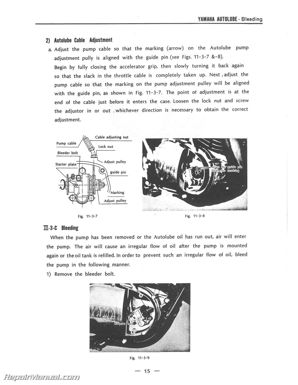 1970 1971 rt1 360cc dt2 rt2 yamaha motorcycle service manual 800 426 4214 ebay