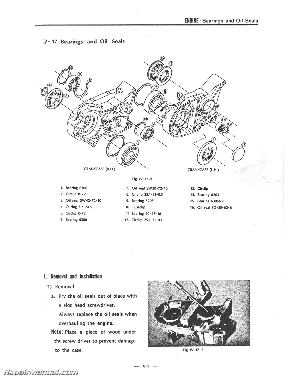 1970-1971 rt1 360cc dt2 rt2 yamaha motorcycle service manual