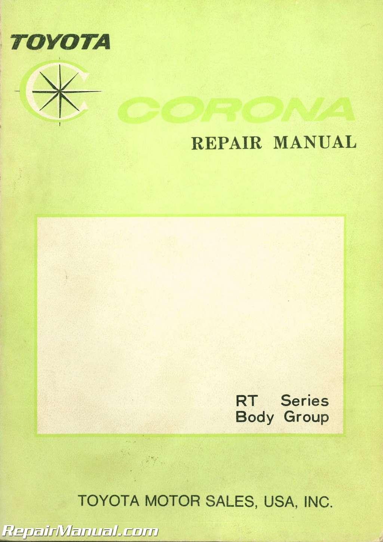 1970 Toyota Corona Rt Series Body Group