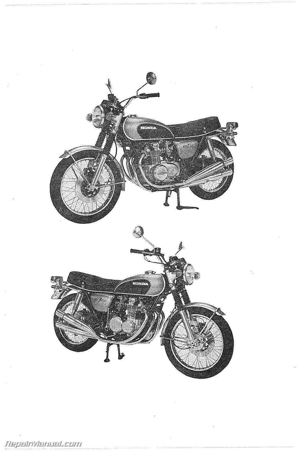 1971 Honda cb500 parts