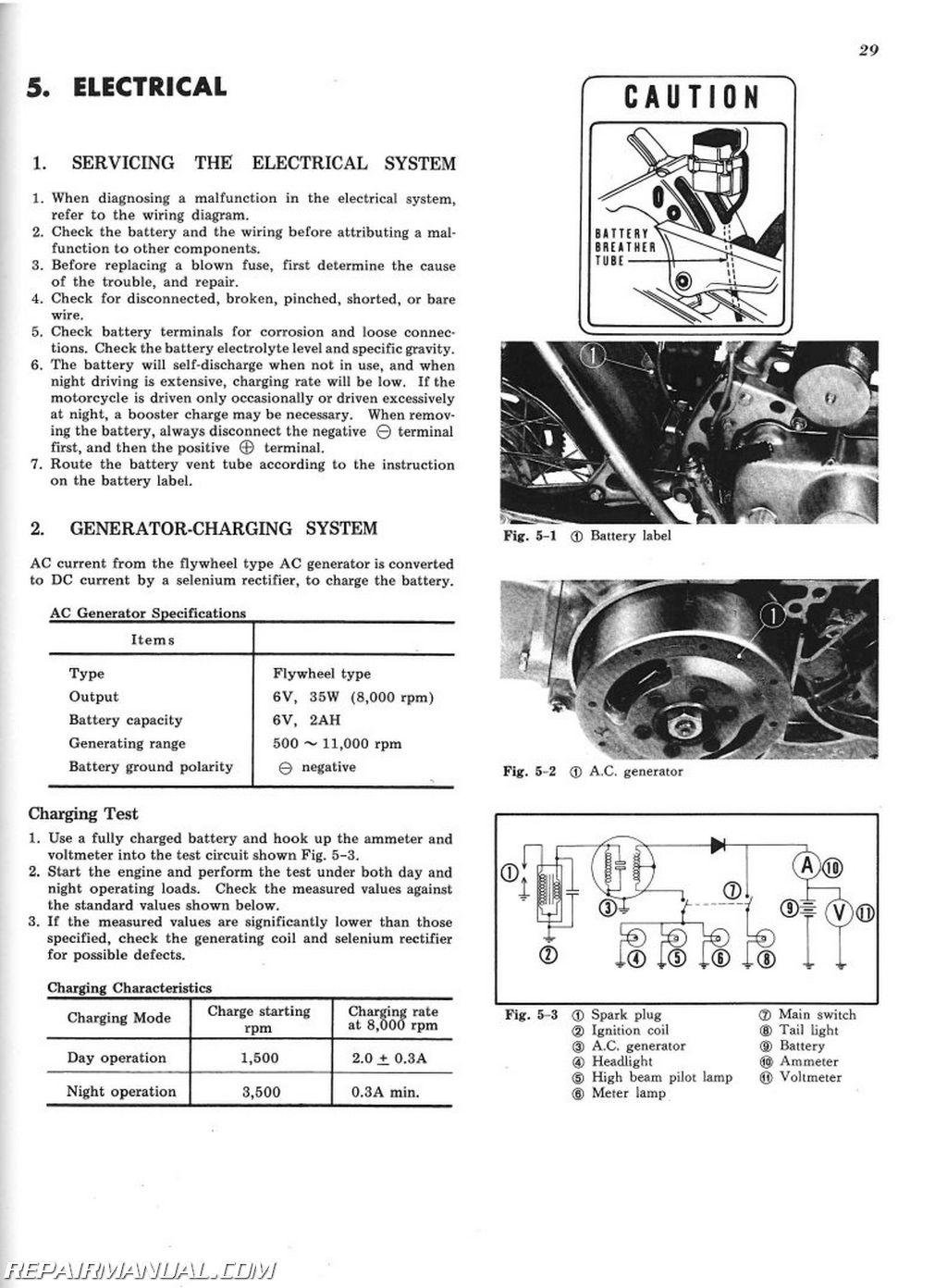 1971-1976 honda sl70 xl70 service manual