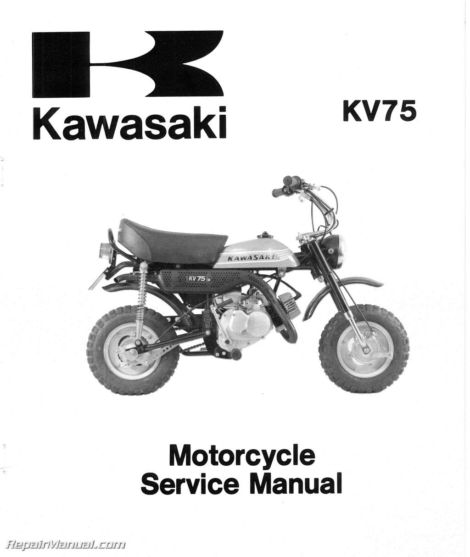 1971 1980 kawasaki mt1 kv75 motorcycle service manual rh repairmanual com 1971 Kawasaki Big Horn 125 1971 Kawasaki Big Horn 125