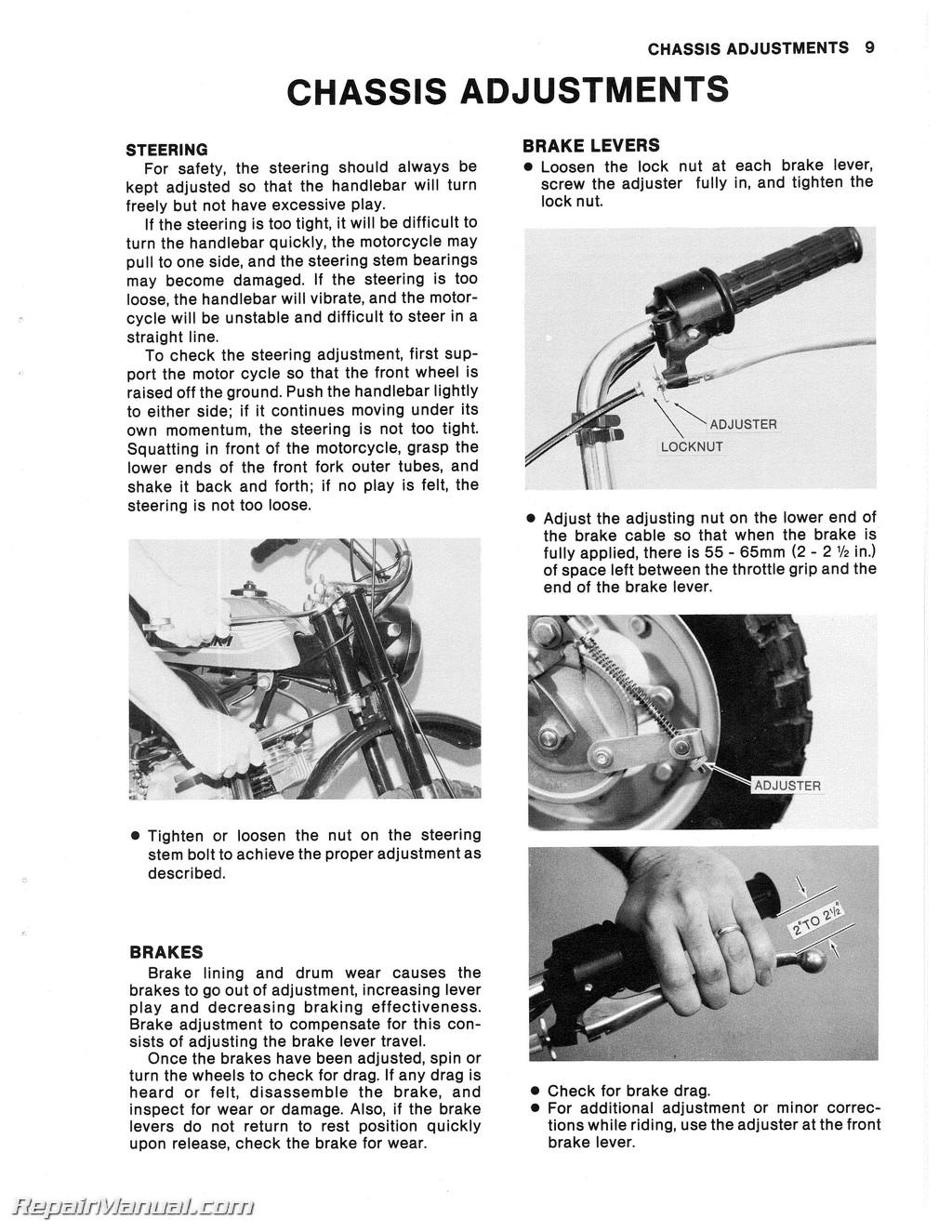 1971 1980 kawasaki mt1 kv75 motorcycle service manual 800 426 4214 ebay. Black Bedroom Furniture Sets. Home Design Ideas