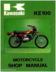 1971-1981 Kawasaki G5 KE100 Motorcycle Service Manual_Page_1
