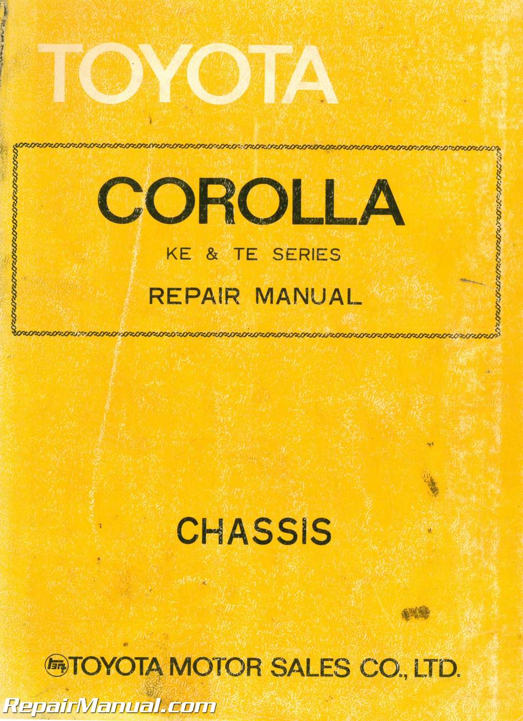 Toyota Corolla Repair Manual: Inspection procedure