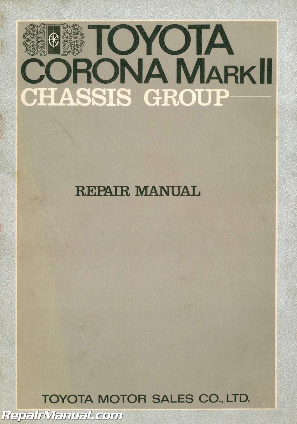 used 1971 toyota corona mark ii chassis group repair manual service manual toyota corolla 2003 manual service toyota corolla 2007