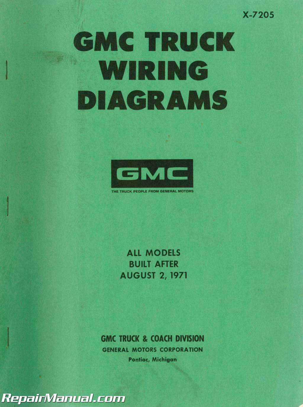 1972 Gmc Truck Wiring Diagram Detailed Schematics 1970 Chevy Starter Used Diagrams Wd 001