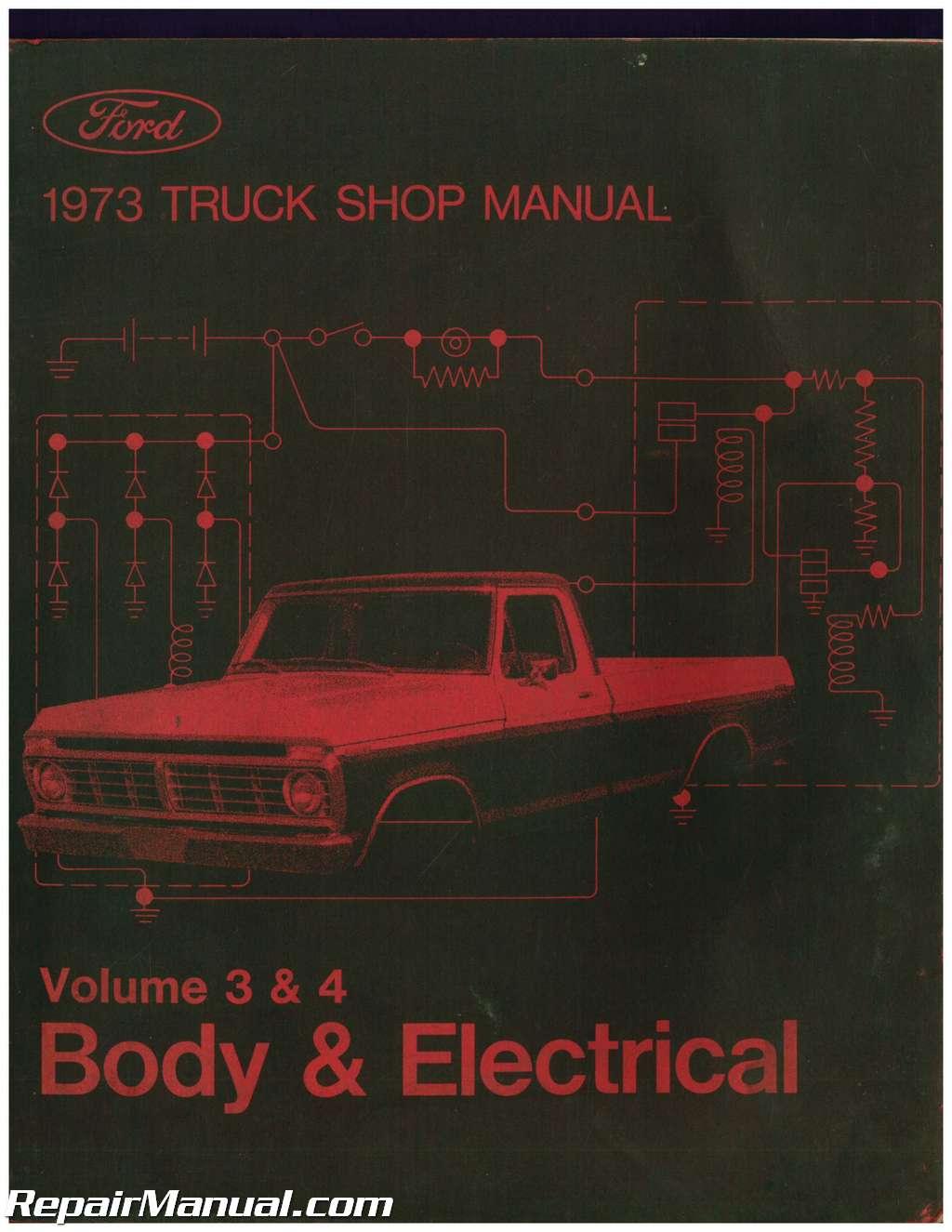 ford shop manuals