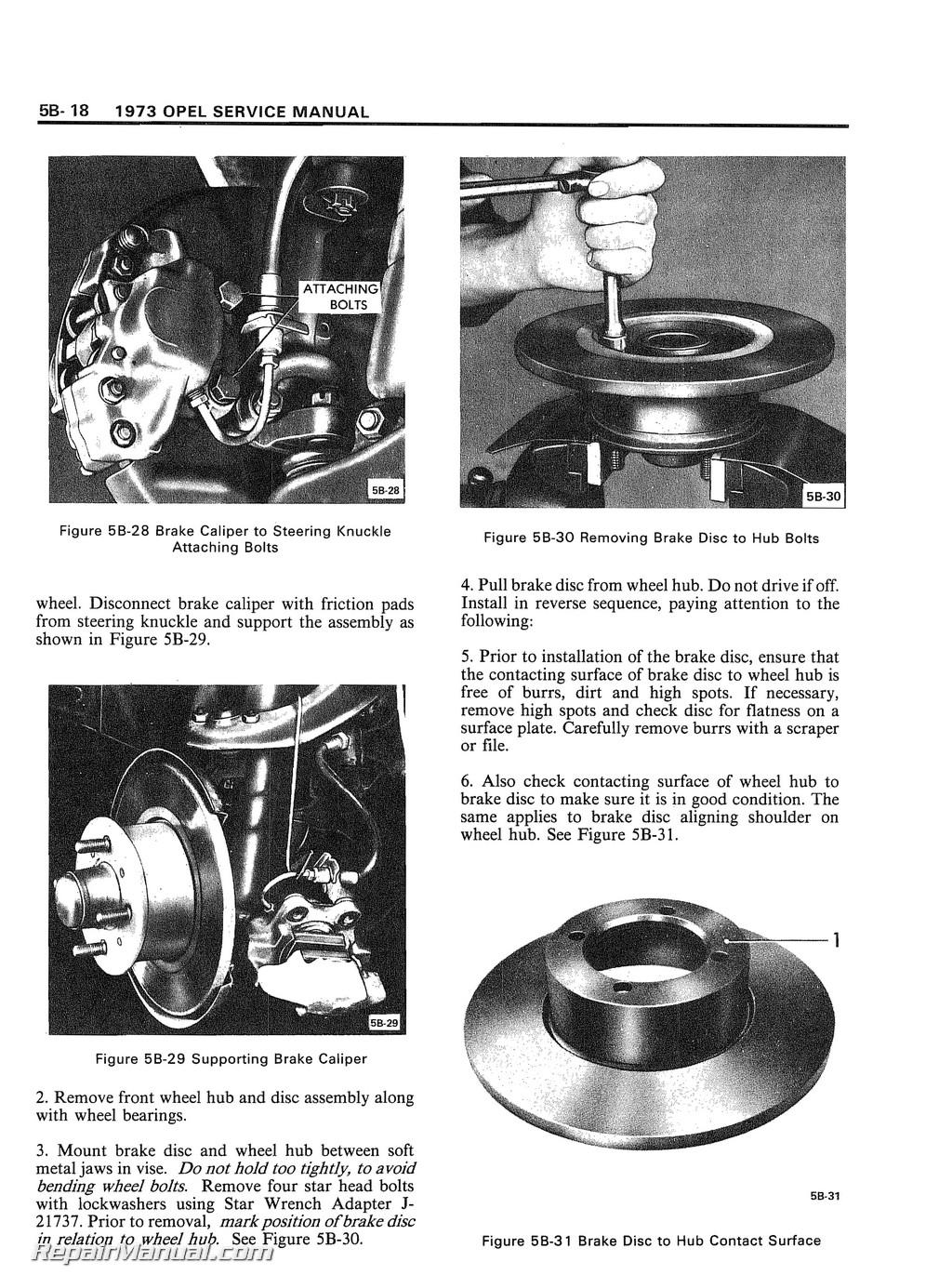 1973 opel 1900 manta and gt service manual rh repairmanual com Craftsman Garage Door Opener Manual Chamberlain Garage Door Opener Manual