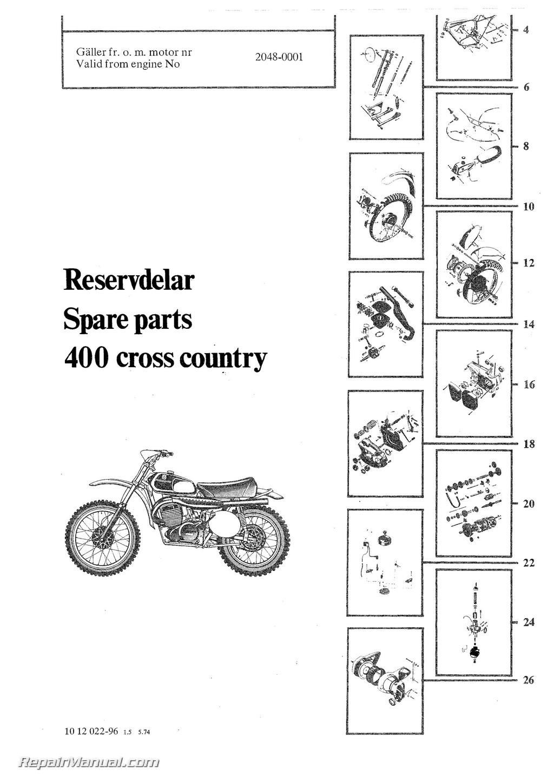 1974 1975 husqvarna 400 wr motorcycle parts manual 800 husqvarna parts manual free husqvarna motorcycle parts manuals