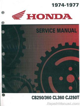 1976 1978 Honda Cb750a Hondamatic Motorcycle Service Manual
