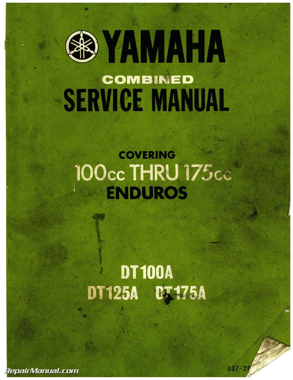 Yamaha Dt 100 Wiring Specifications Schematics Diagrams Rd200 Diagram Free Download Schematic 1974 Dt100 Dt125 Dt175 Enduro Motorcycle Service Manual Rh Repairmanual Com Repair 1980 125