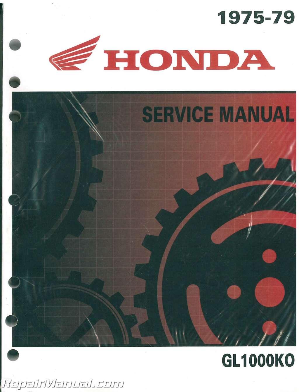 Honda Goldwing Wiring Diagram On 1978 Honda Gl 1000 On Gl1000