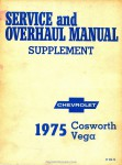 1975 Chevrolet Cosworth Vega Service and Overhaul Manual Supplement_Page_1