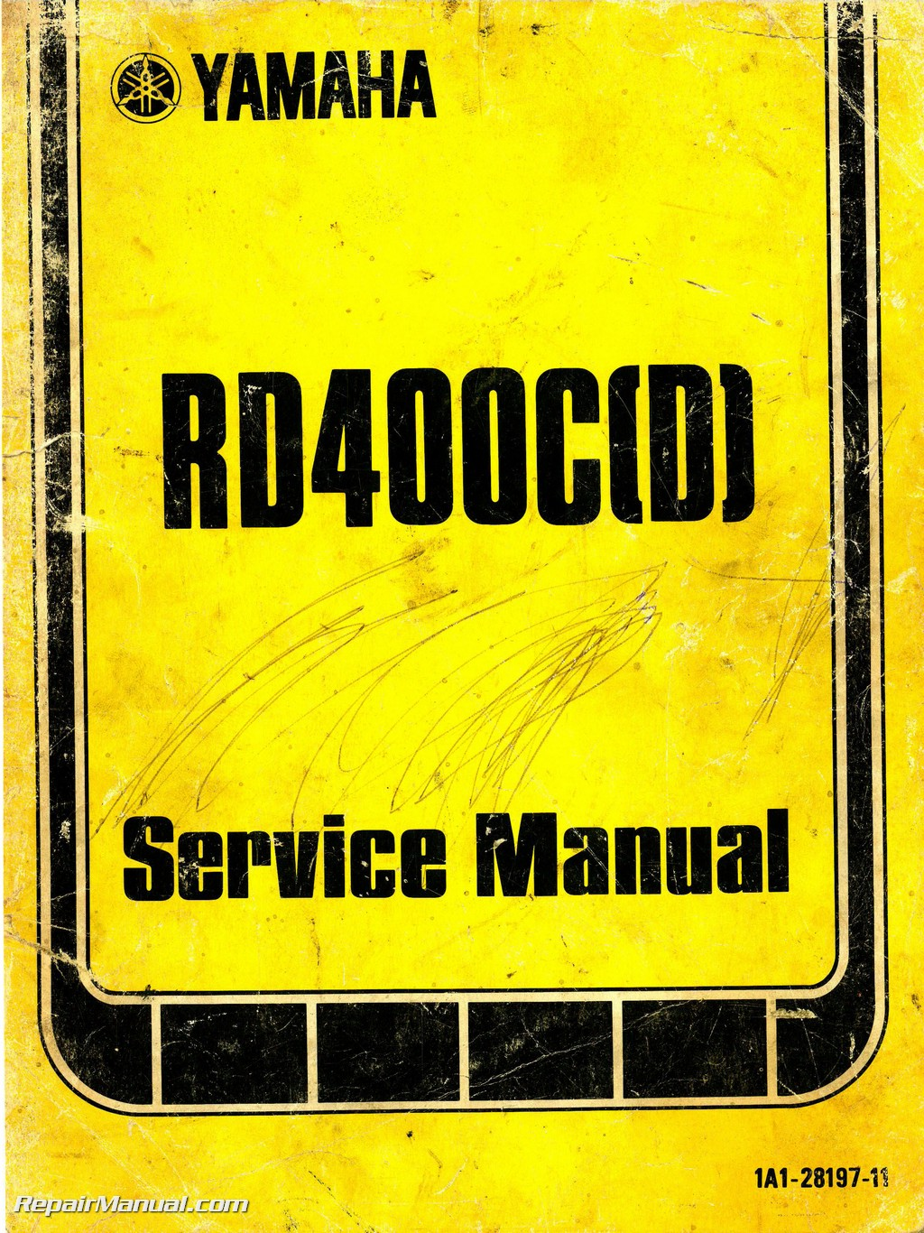 Circuit diagram. Cable routing diagram. 1976-1977-Yamaha-RD400C-RD400D-Service-Manual_Page_1.jpg ...