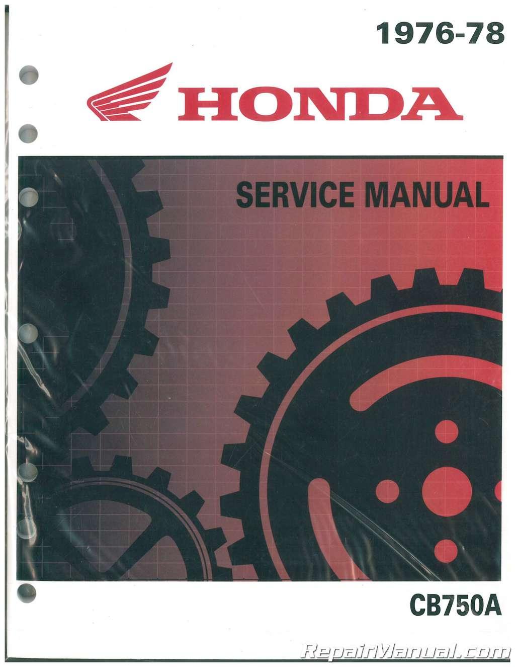 1976 1978 honda cb750a hondamatic motorcycle service manual rh repairmanual com honda cb 750 service manual pdf honda cb 750 service manual pdf