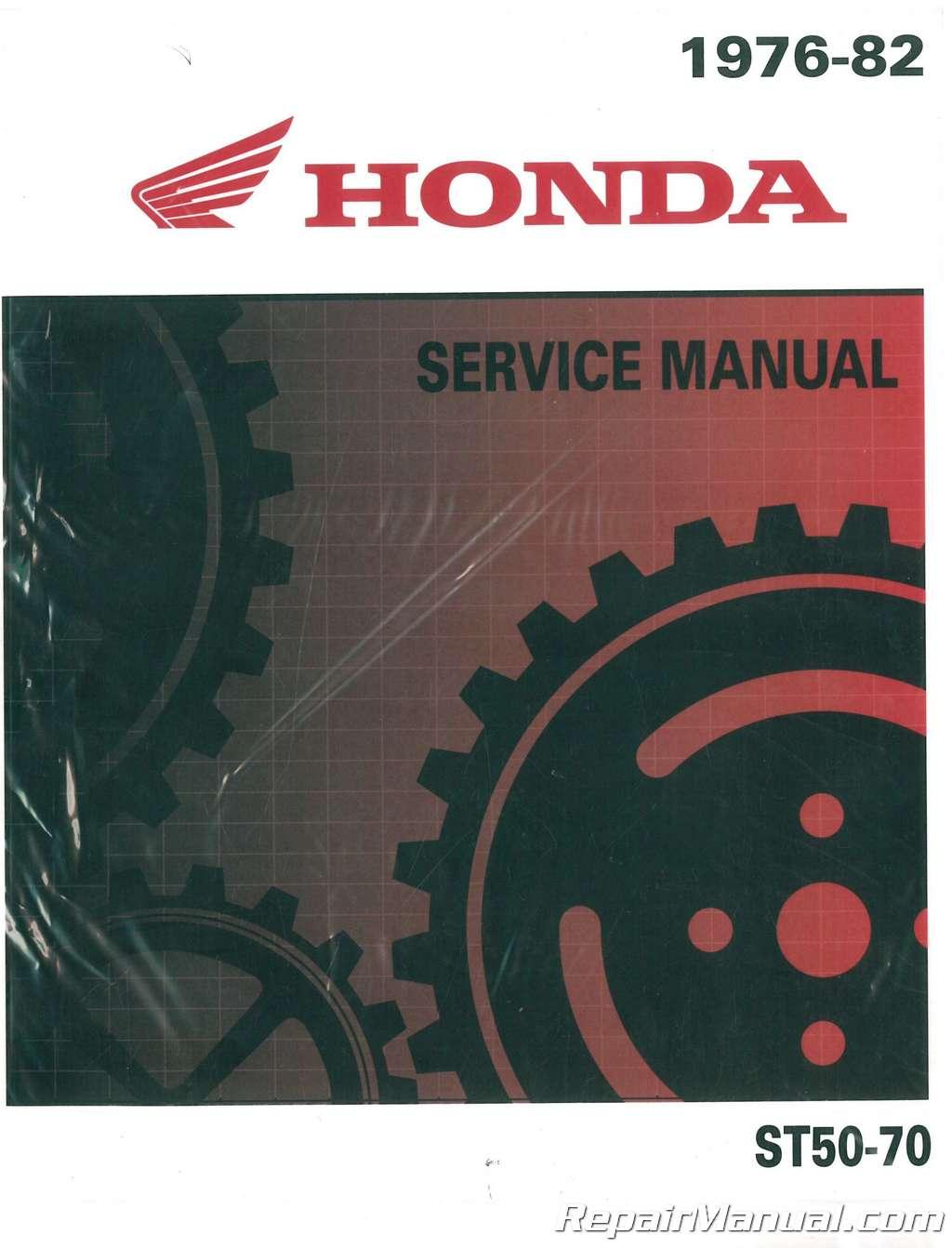 1976 – 1982 Honda ST50-70-CT70-70H Motorcycle Service Manual