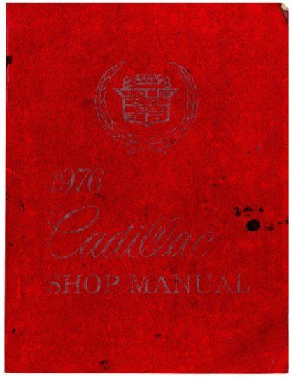 1976 Cadillac Shop Manual