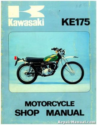 1976 Kawasaki KE175B1 Official Factory Service Manual