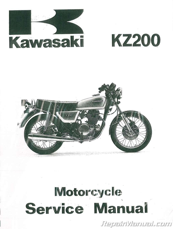 1977-1981 Kawasaki KZ200 Motorcycle Service Manual on vulcan 1500 wiring diagram, kz650 wiring diagram, vulcan 750 wiring diagram, ex500 wiring diagram, zx600 wiring diagram, kz900 wiring diagram, kz1000 wiring diagram, z1000 wiring diagram, kdx400 wiring diagram, ke175 wiring diagram, kz440 wiring diagram, kz550 wiring diagram, ke100 wiring diagram, voyager wiring diagram, gto wiring diagram, kz400 wiring diagram, kz750 wiring diagram, ninja 250r wiring diagram, klr650 wiring diagram, ex250 wiring diagram,