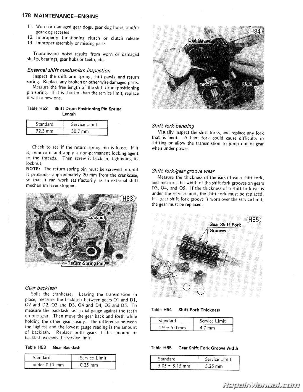 1978 – 1980 Kawasaki KZ650 Motorcycle Repair Manual
