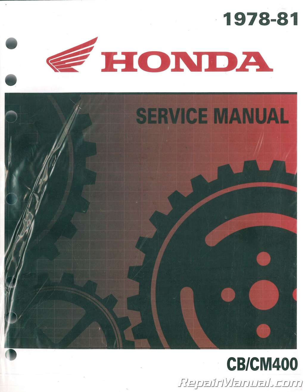 1978 1981 Honda Cb400 Cm400 Motorcycle Service Repair Manual 19781979 Complete Wiring Diagram All About