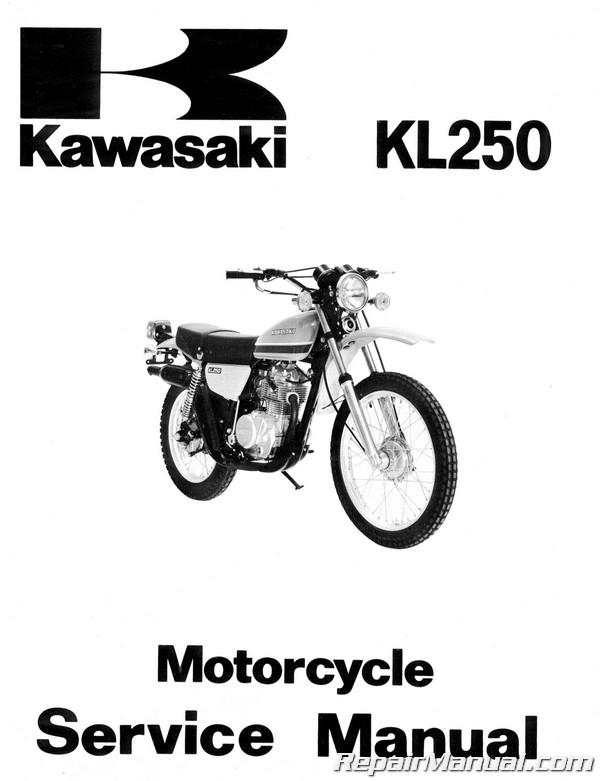 1978 1979 kawasaki kl250 motorcycle service manual rh repairmanual com kawasaki kl250 service manual kawasaki klr 250 service manual