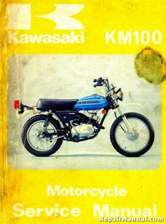 1978-1981 Kawasaki KM100 Motorcycle Repair Service Manual