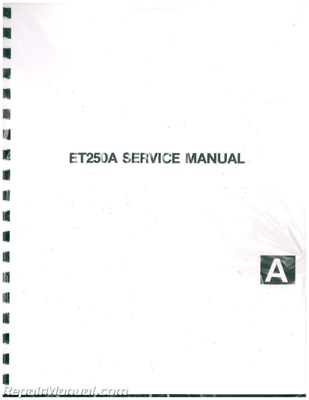 1978 1981 yamaha enticer et250 snowmobile service manual repair 1978 1981 yamaha enticer et250 snowmobile service manual 001