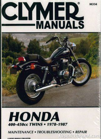 Honda CBR600 Hurricane Motorcycle Repair Manual 1987-1990 Clymer