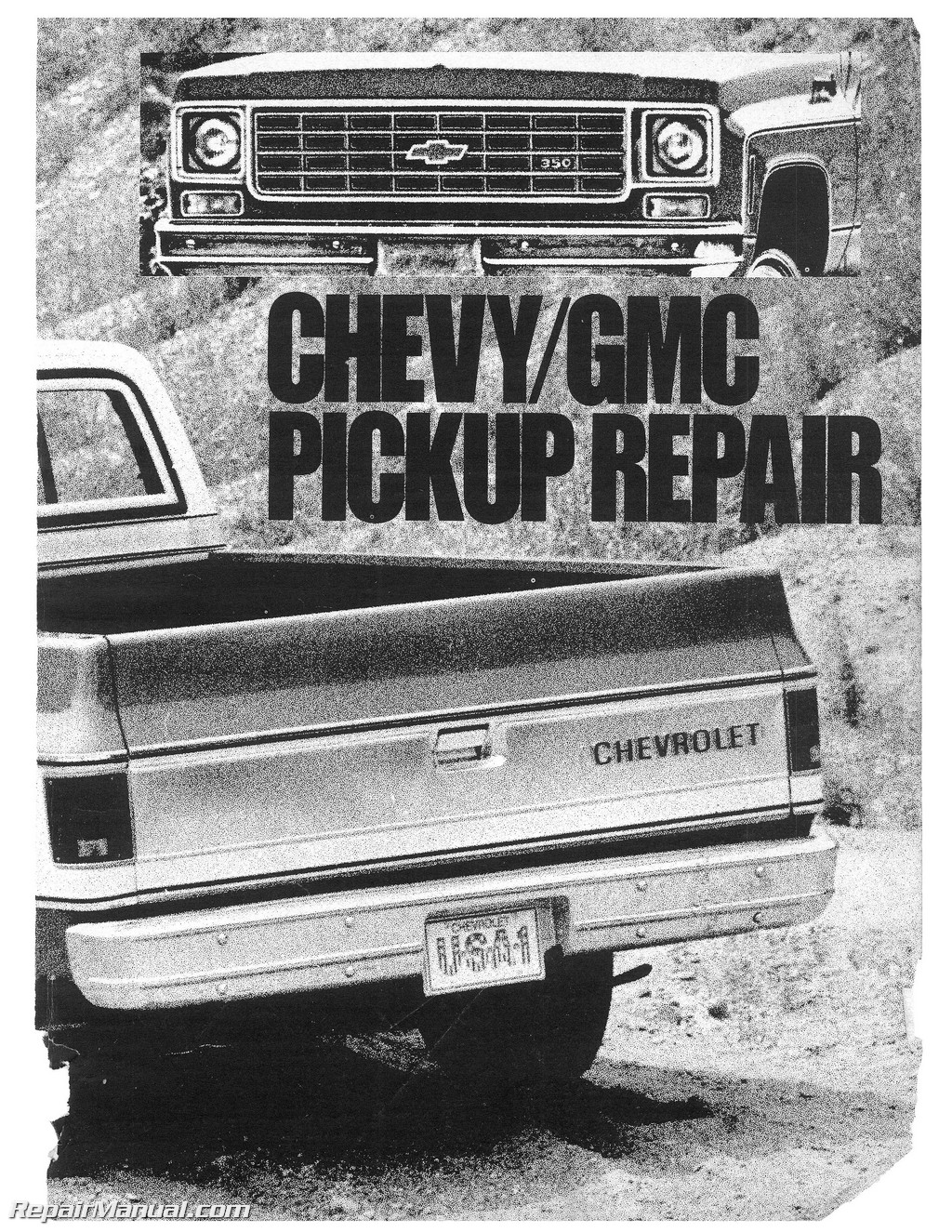 1978 chevrolet gmc pick up repair manual rh repairmanual com 1975 GMC Truck 1975 GMC Truck