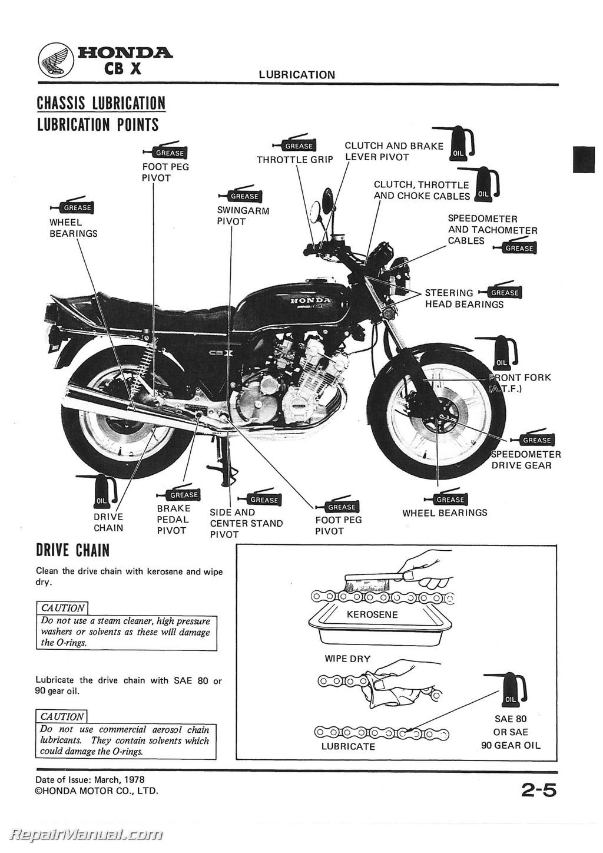 Honda Motorcycle Service Manual