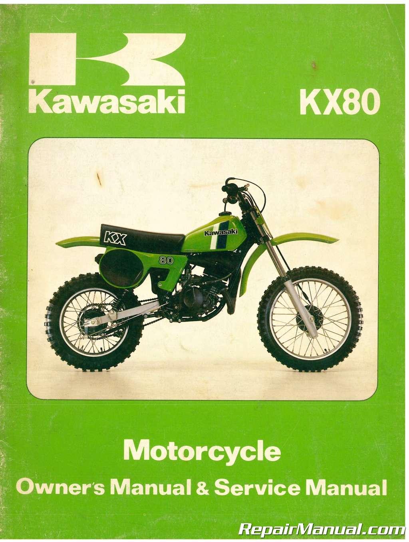 kawasaki kx 80 wiring diagram wiring diagram  kawasaki kx80 wiring diagram #4