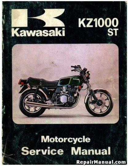 1979-1980 Kawasaki KZ1000E Service Manual