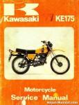 1979-1982 Kawasaki KE175 D Series Motorcycle Repair Service Manual