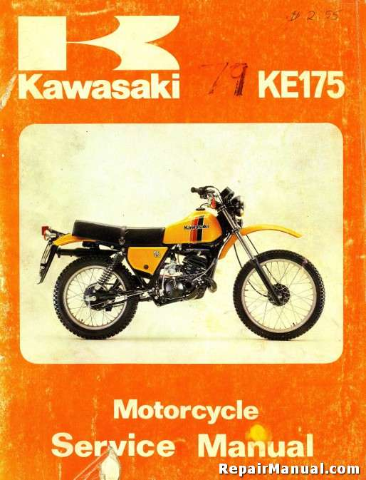kawasaki   series motorcycle repair service manual