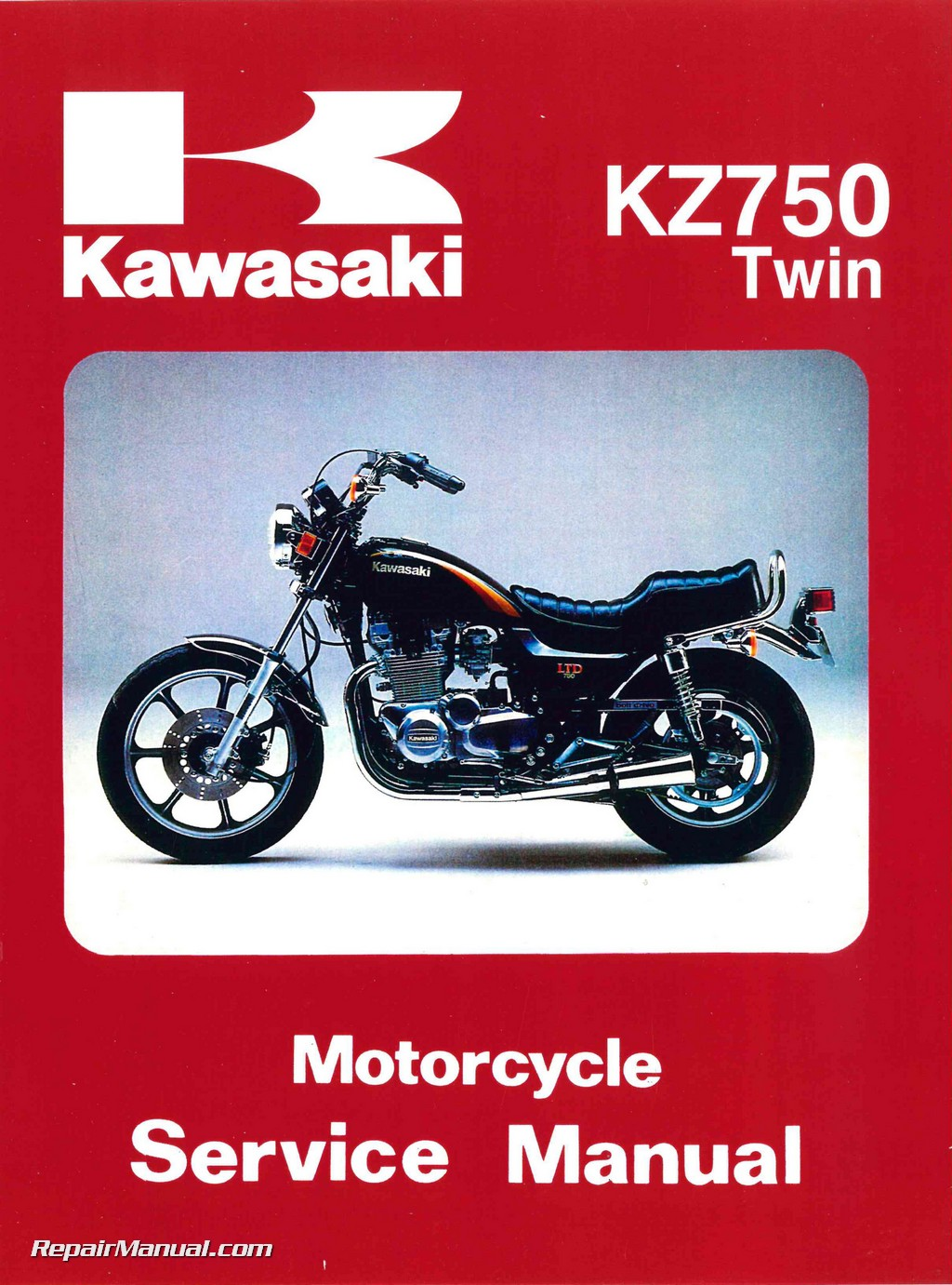 Kawasaki Kz Twin Cylinder Repair Manual on Kawasaki Wiring Diagrams