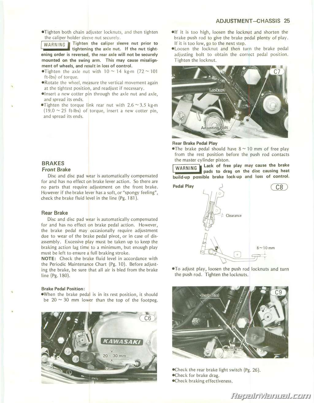 Wiring Diagram 1981 Kawasaki K Z 750 Reveolution Of Vn 1979 1984 Kz750 Twin Cylinder Motorcycle Repair Manual Rh Repairmanual Com 1985 Ltd Vulcan Bobber