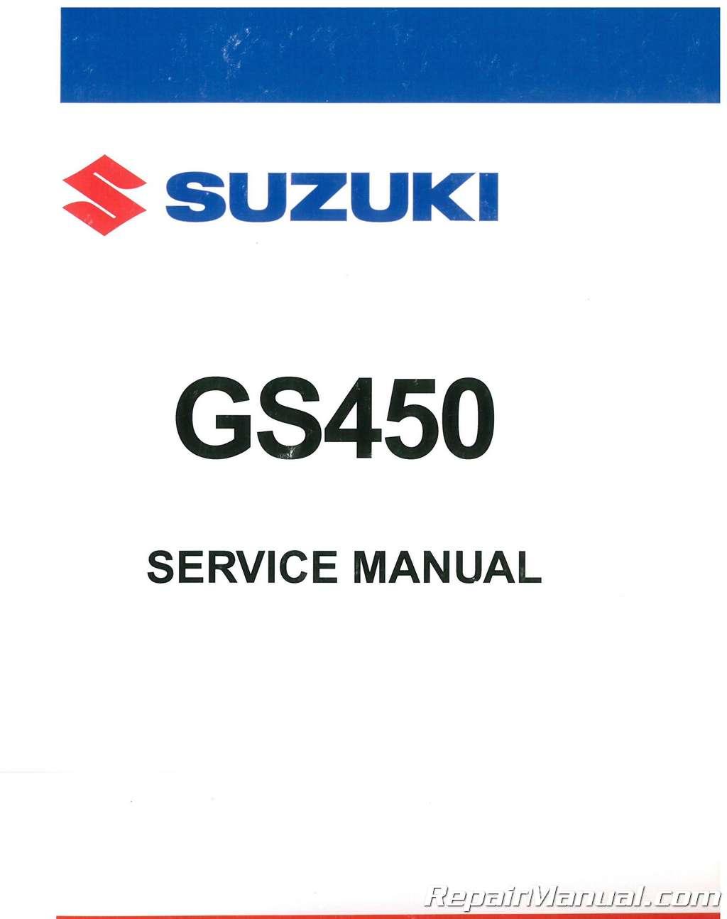 suzuki gs450 gs450tx 1981 1985 service repair factory manual