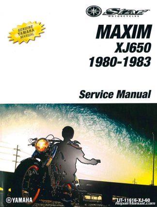 you're viewing: 1980 – 1983 yamaha xj650 maxim motorcycle service manual  $92 00 $76 00