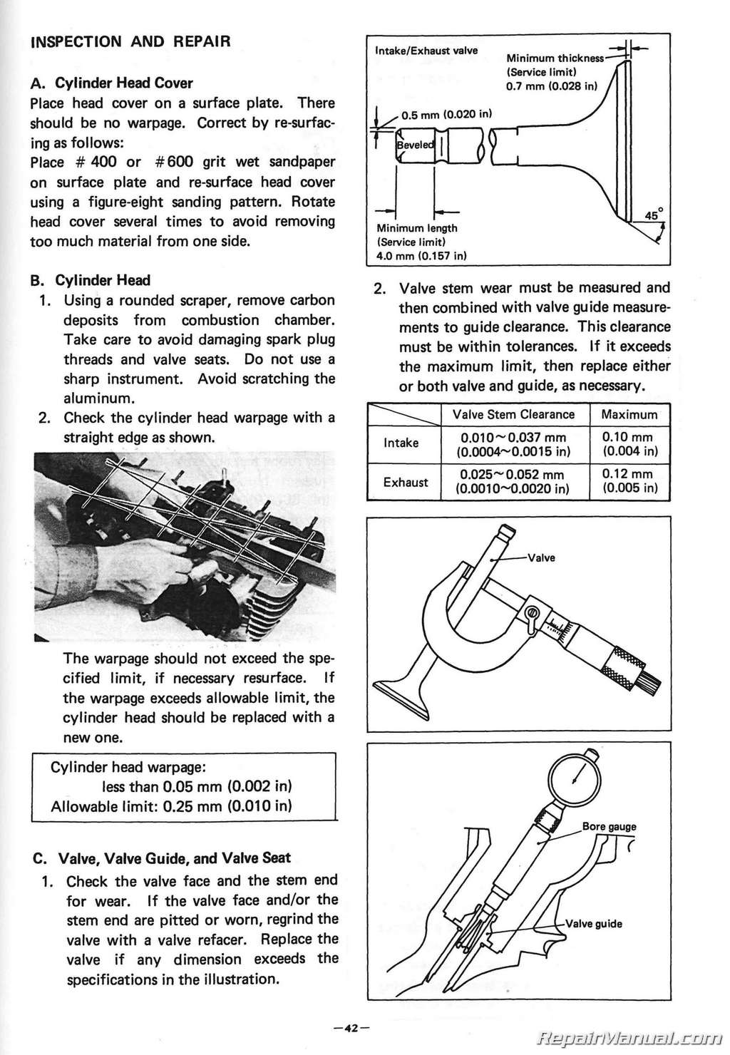 How To Service  Yamaha Maxim Parts