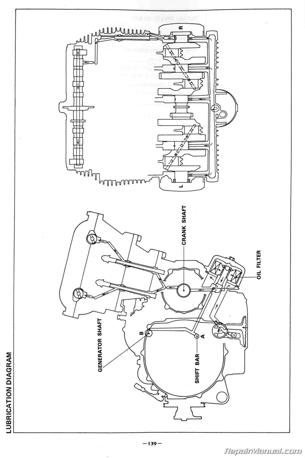 1980 – 1983 Yamaha XJ650 Maxim Motorcycle Service Manual Yamaha Xj Maxim Wiring Diagram on