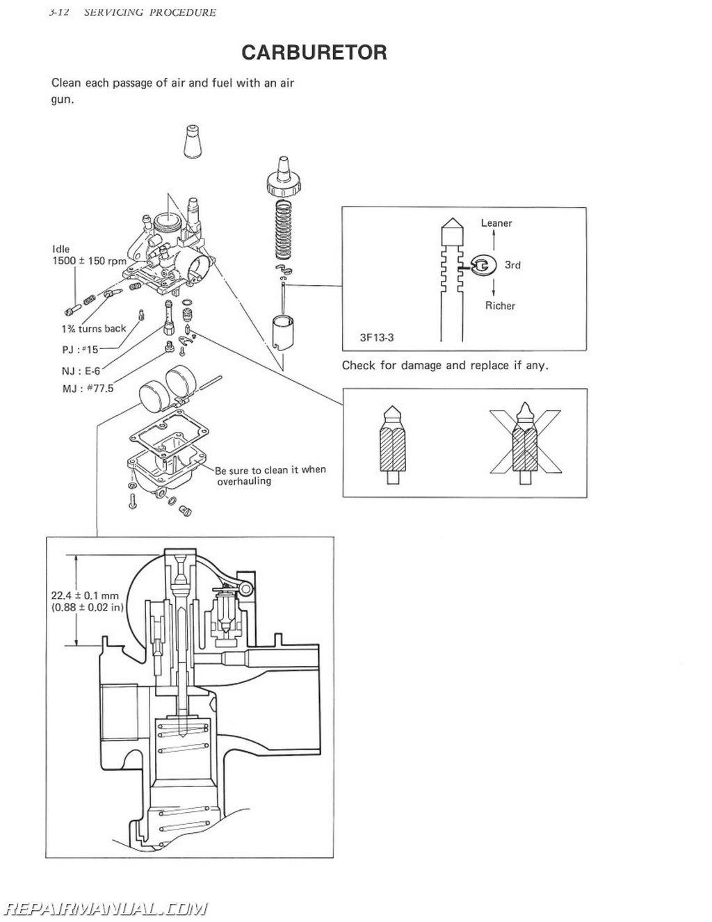 1980-1991 Suzuki FA50 Moped Service Manual | eBay | 1980 Suzuki Fa50 Wiring Diagram |  | eBay