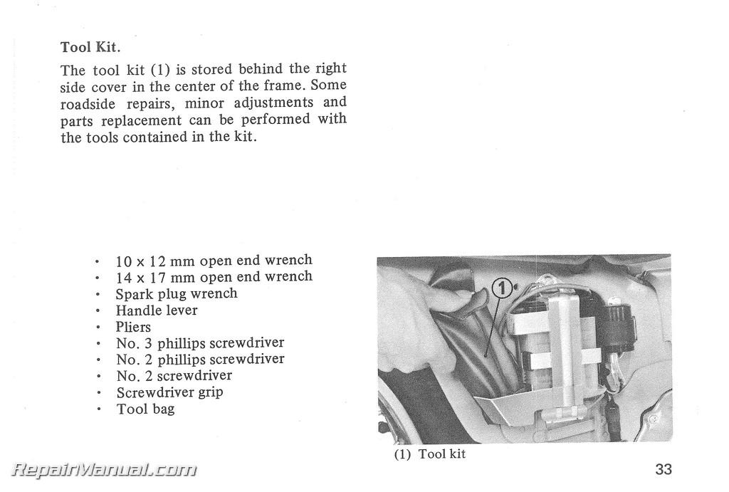 1980 honda ct110 scooter owners manual rh repairmanual com honda ct110 service manual 1981 honda ct110 service manual