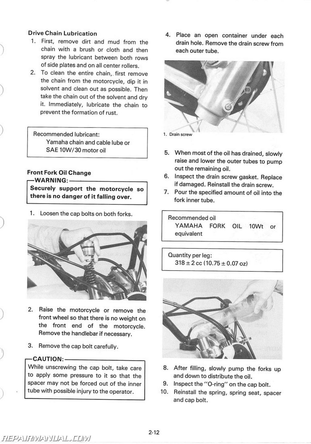 Yamaha Tt G Service Manual Page on Yamaha Atv Wiring Diagram