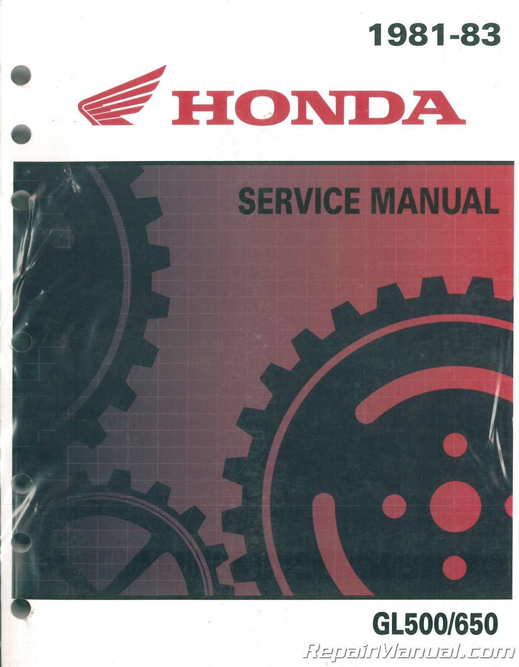1981-1983-Honda-Silverwing-GL500-GL650-Motorcycle-Service- ...